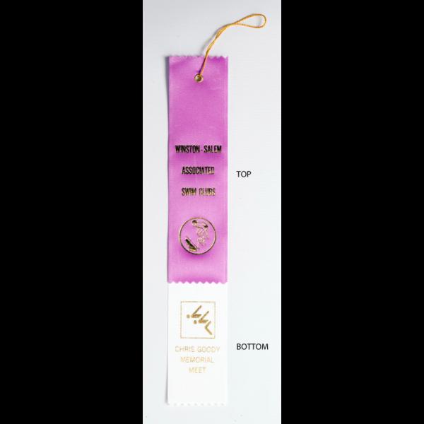 2 Custom 2x12-2 Layer Award Ribbon