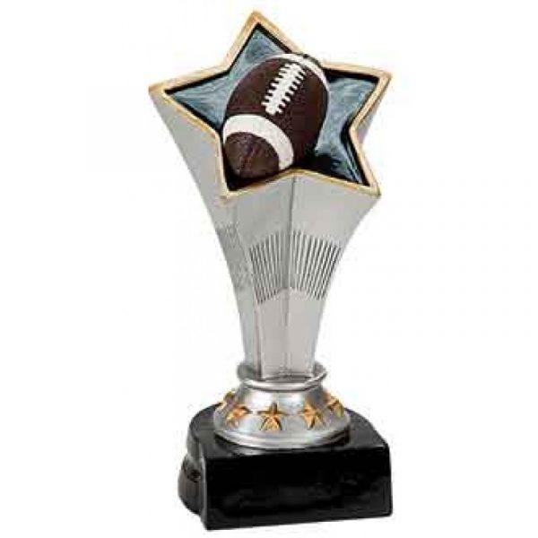 Football Rising Star Resin Trophy