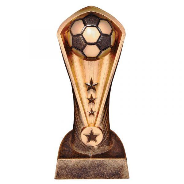 Football Star Resin Trophy